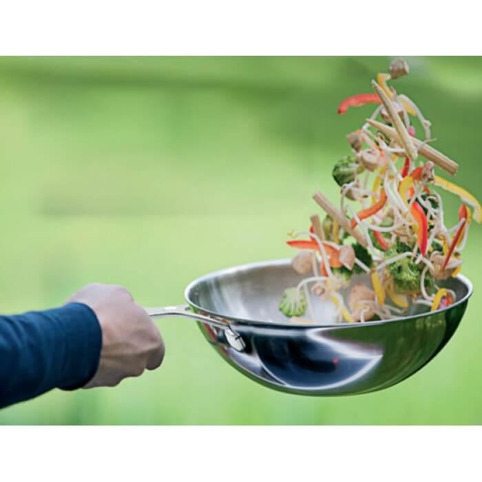 Mooie aanbieding: DeMeyere Industry wok